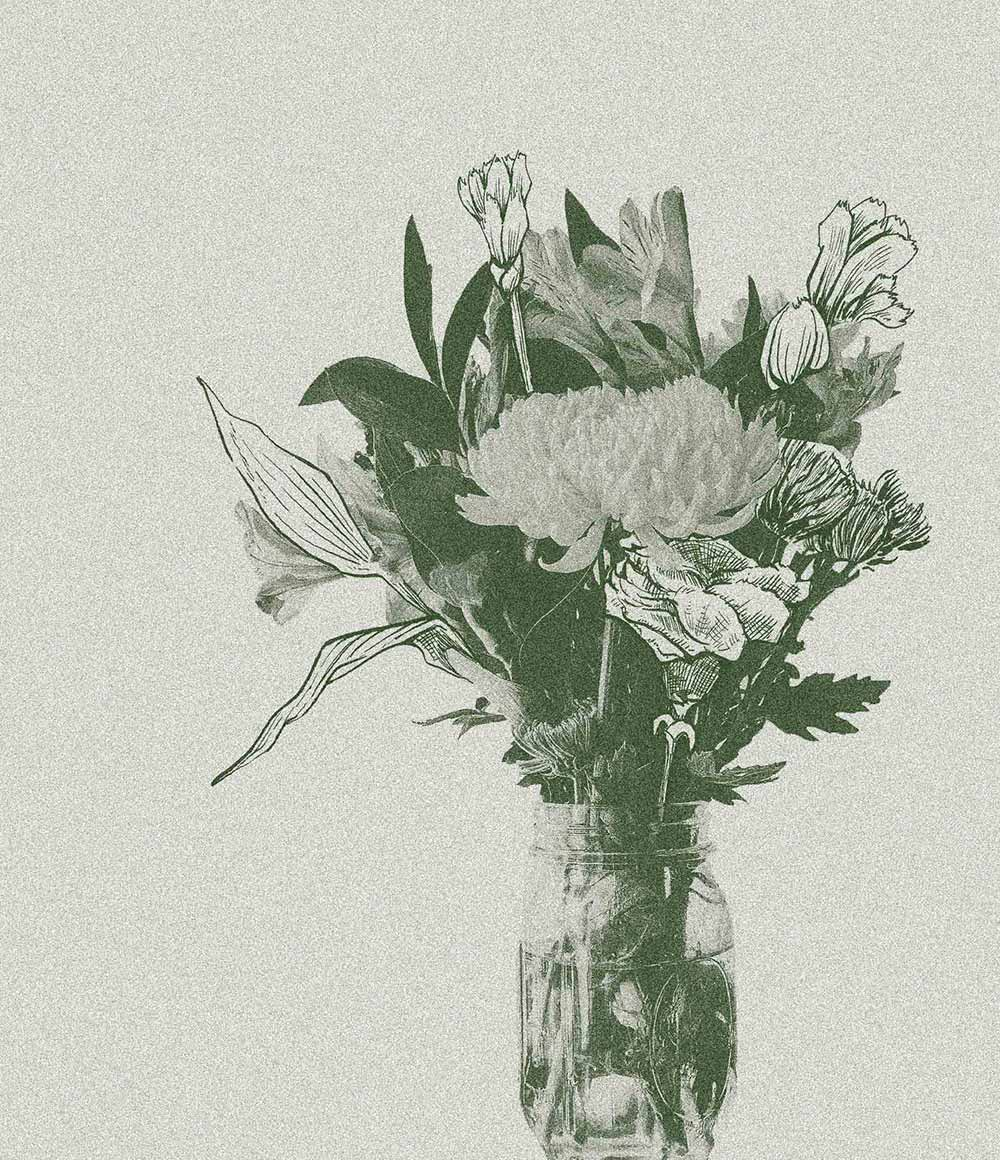 DODEL Floristik Blumenvase 2